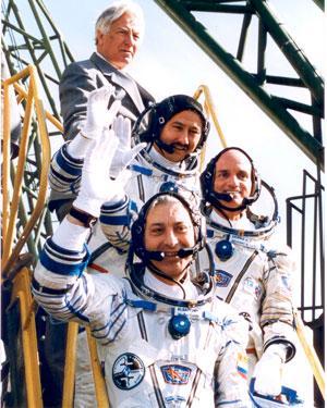 Космонавты. 2001 год