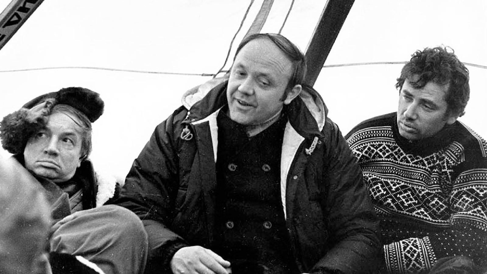Андрей Вознесенский и Юрий Сенкевич