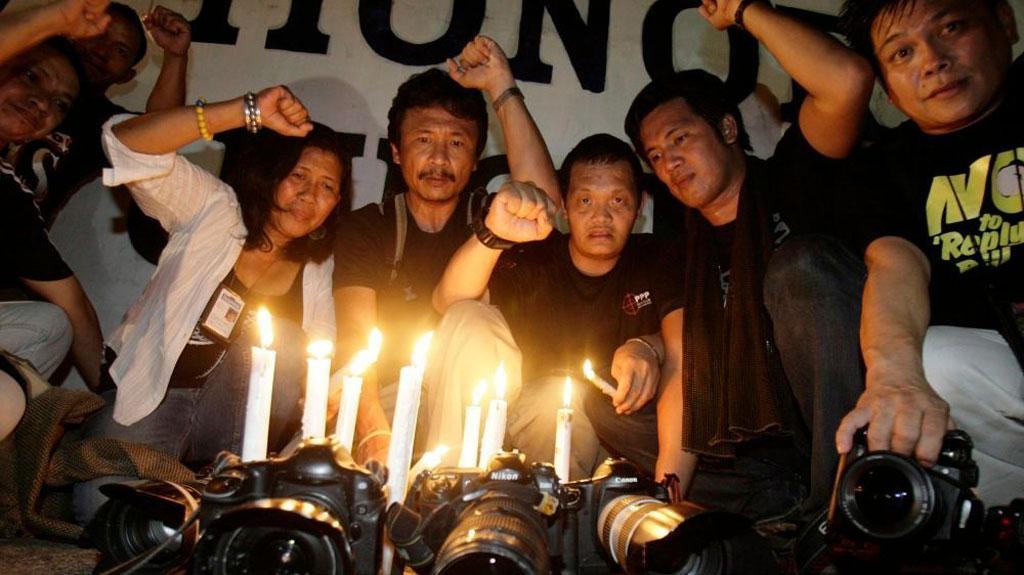 Память жертв резни в Магинданао в 2009 году