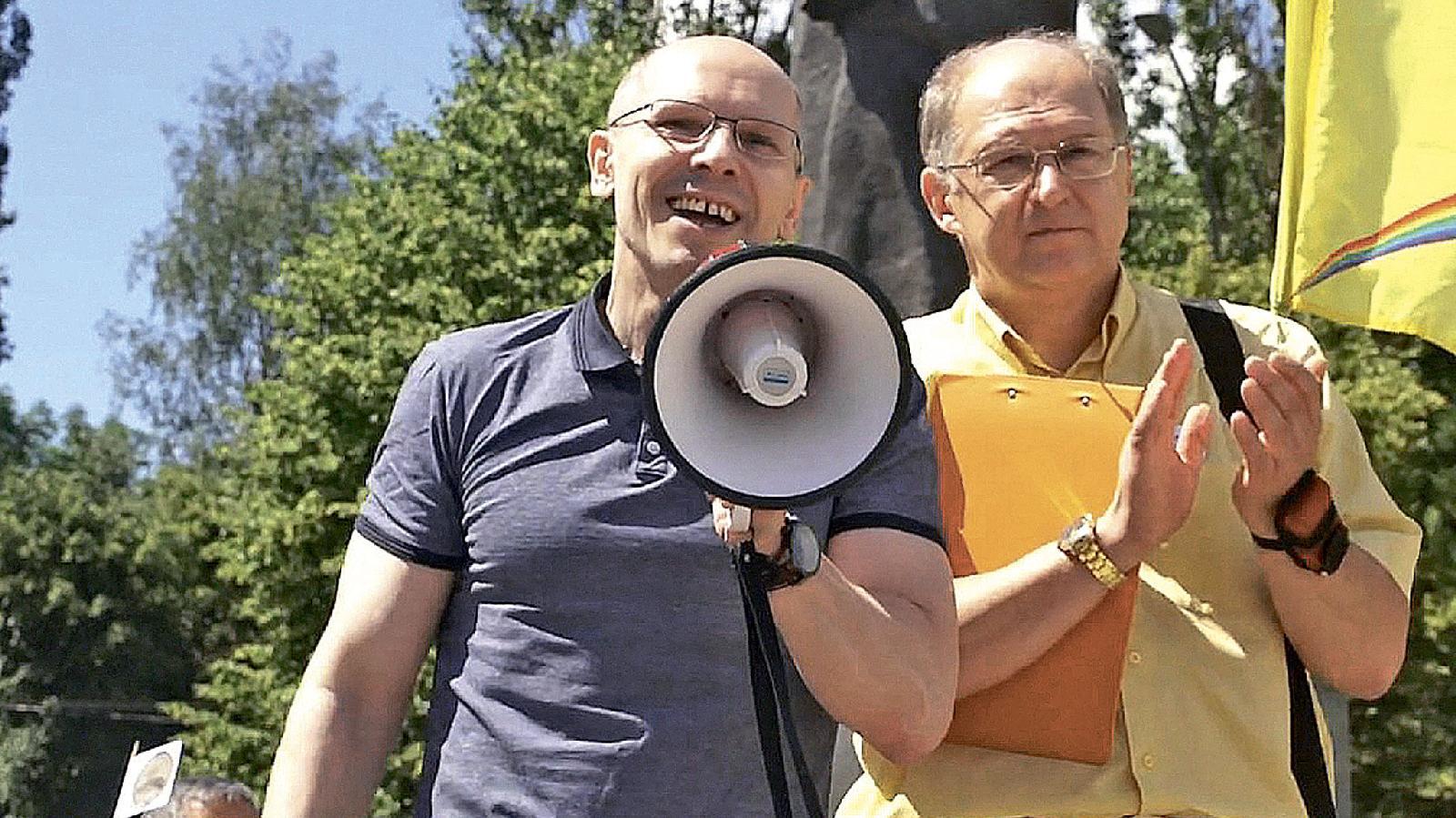 Митинг вКалининграде, посвященный освобождению Игоря Рудникова. 22 июля 2019 года
