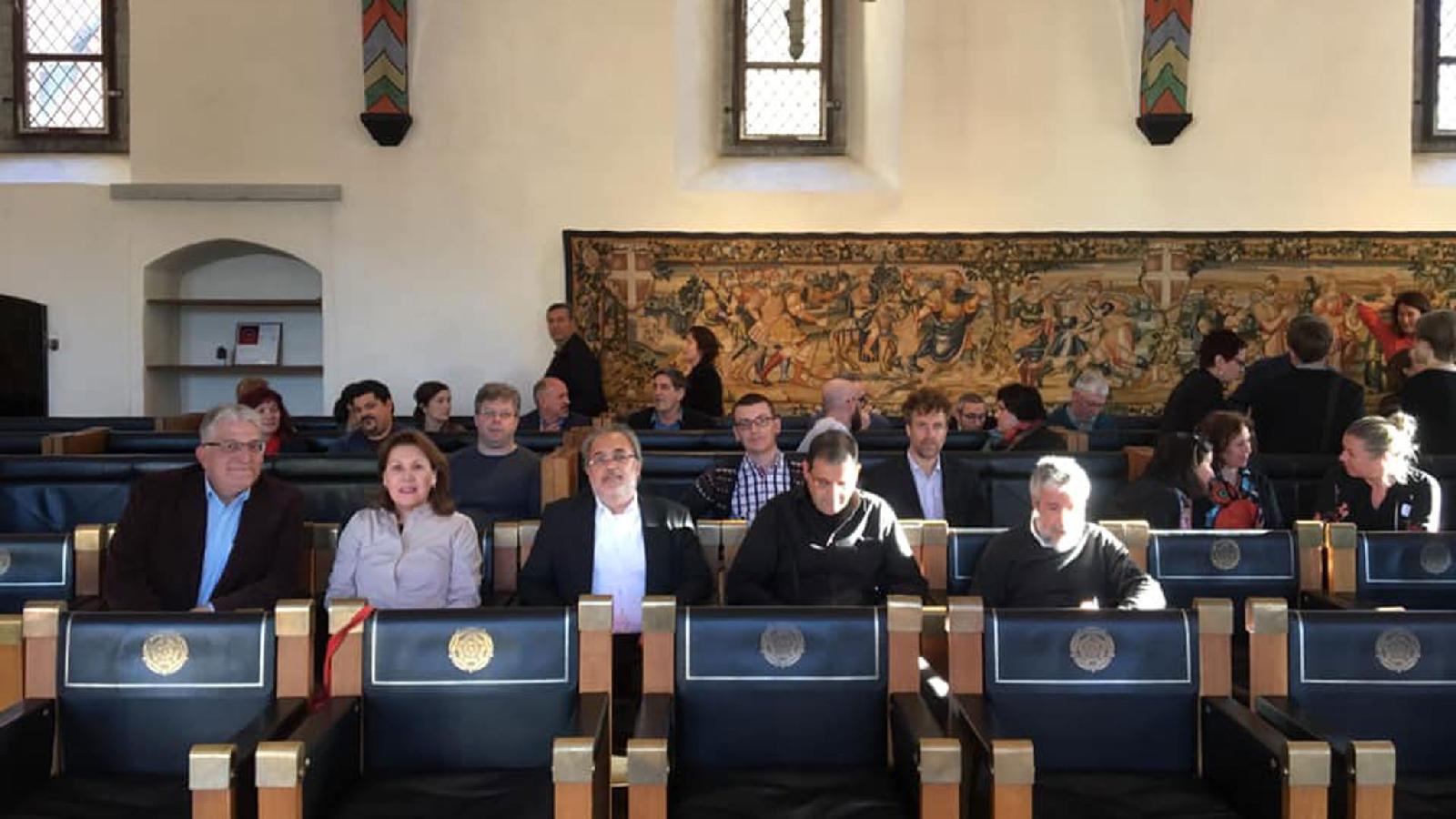 В Ратуше в ожидании мэра Таллина