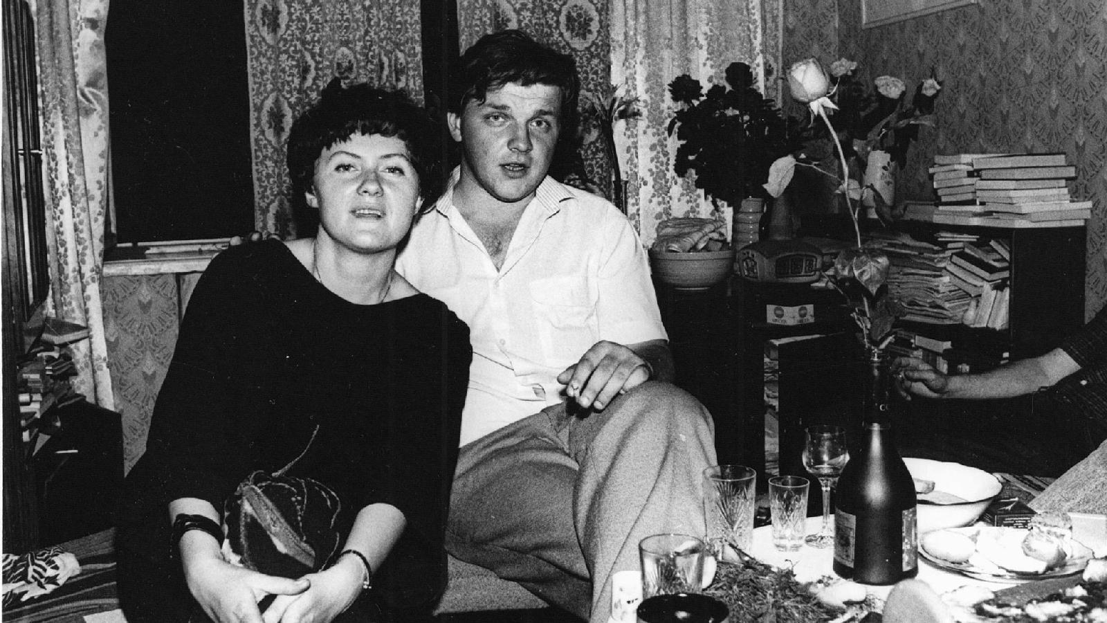 Сергей Кушнерев и Надежда Ажгихина, 1983 год