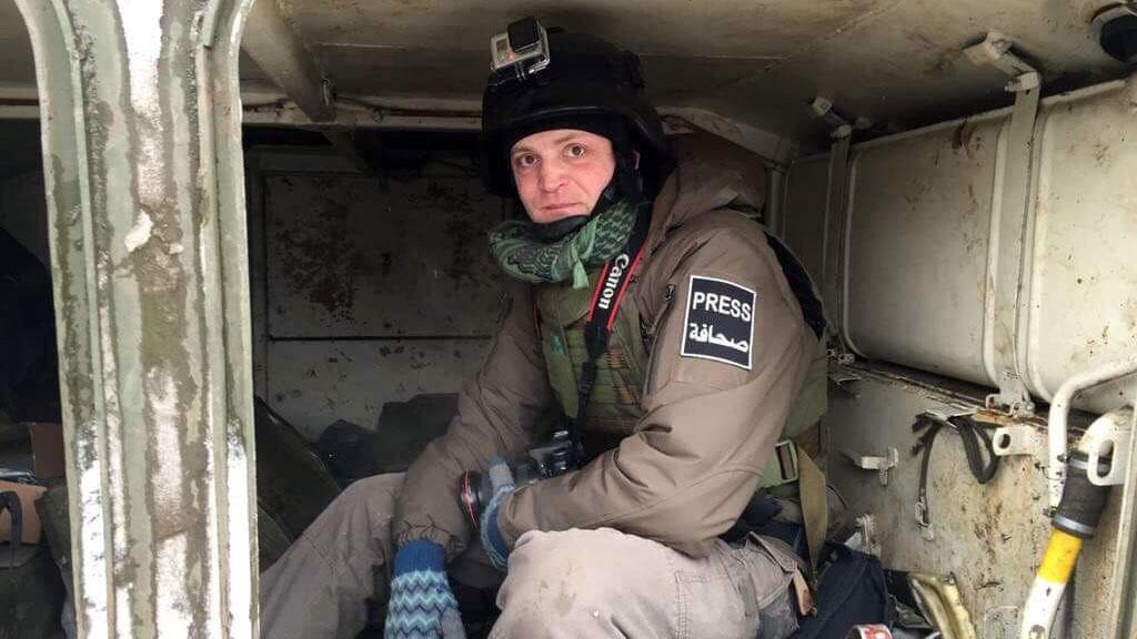 Специальный корреспондент Александр Коц заработой вСирии