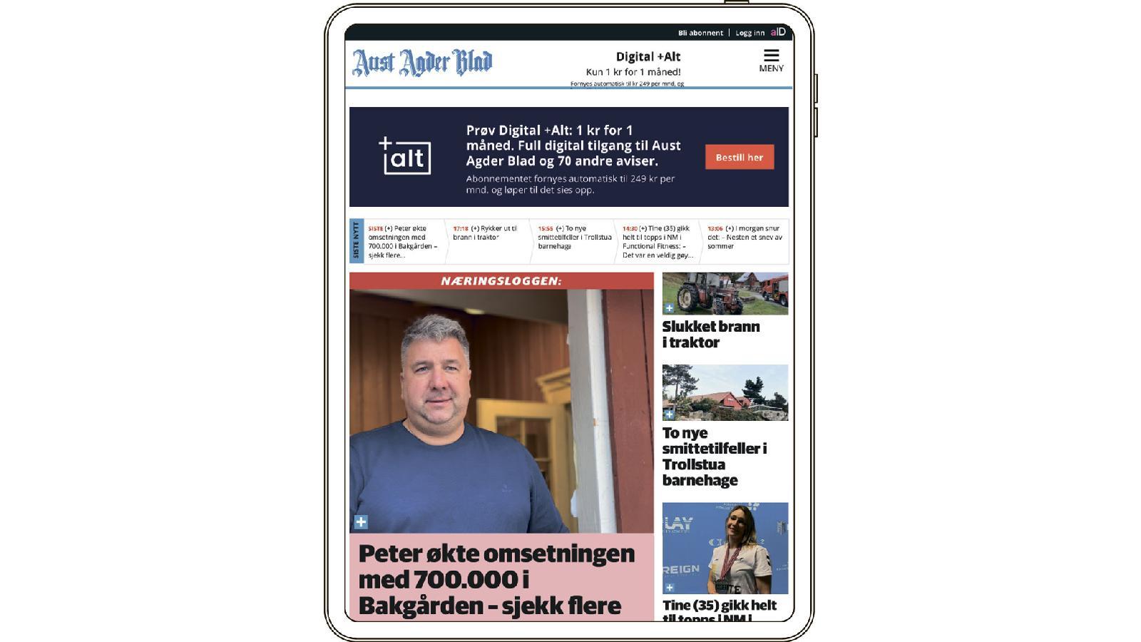 Amedia выпускает 79 газет. В среднем у каждого издания около восьми тысяч подписчиков