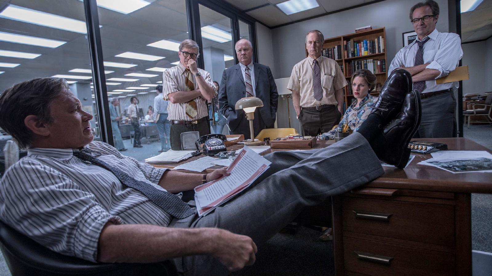 Кадр из фильма Стивена Спилберга «Секретное досье»
