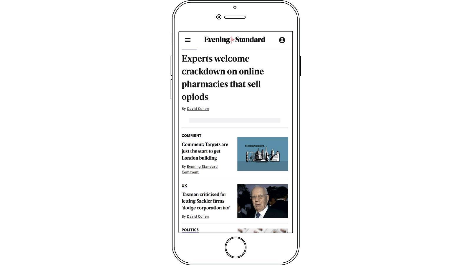 Evening Standard регулярно запускает тематические информационные кампании. Одна из них — расследование о рынке опиоидных препаратов