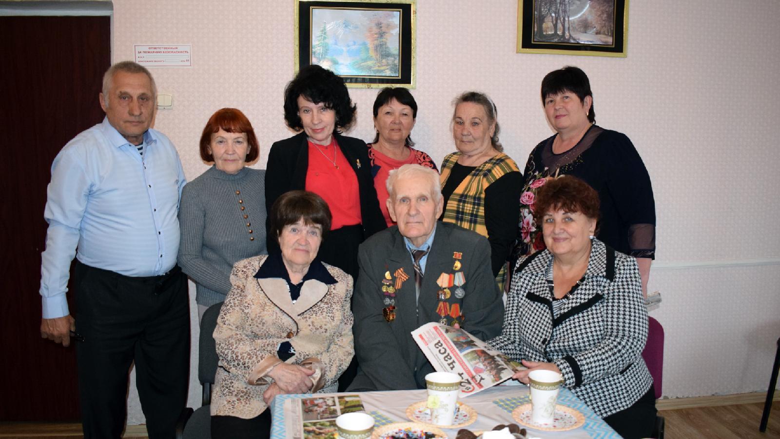 Встреча вредакции газеты ветеранов полиграфии ижурналистики