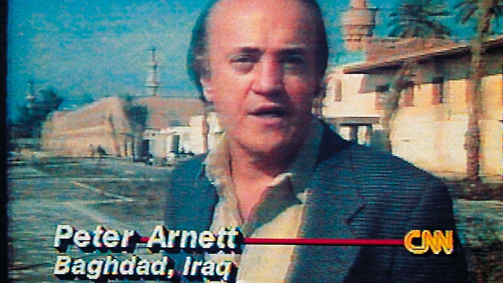 Репортер CNN Питер Арнетт