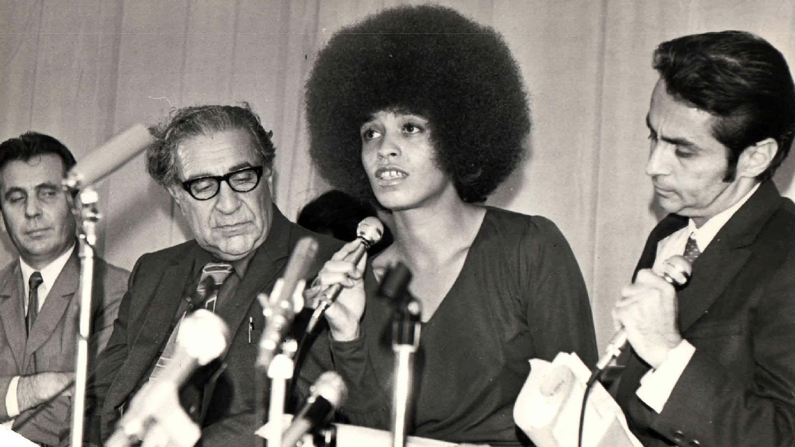 Международная конференция в ЦДИС с участием легендарной Анжелы Дэвис. 1972 год