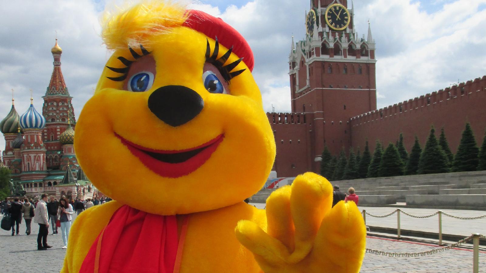 «Мурзилка» на книжном фестивале «Красная площадь». Москва. 4 июня 2017 года