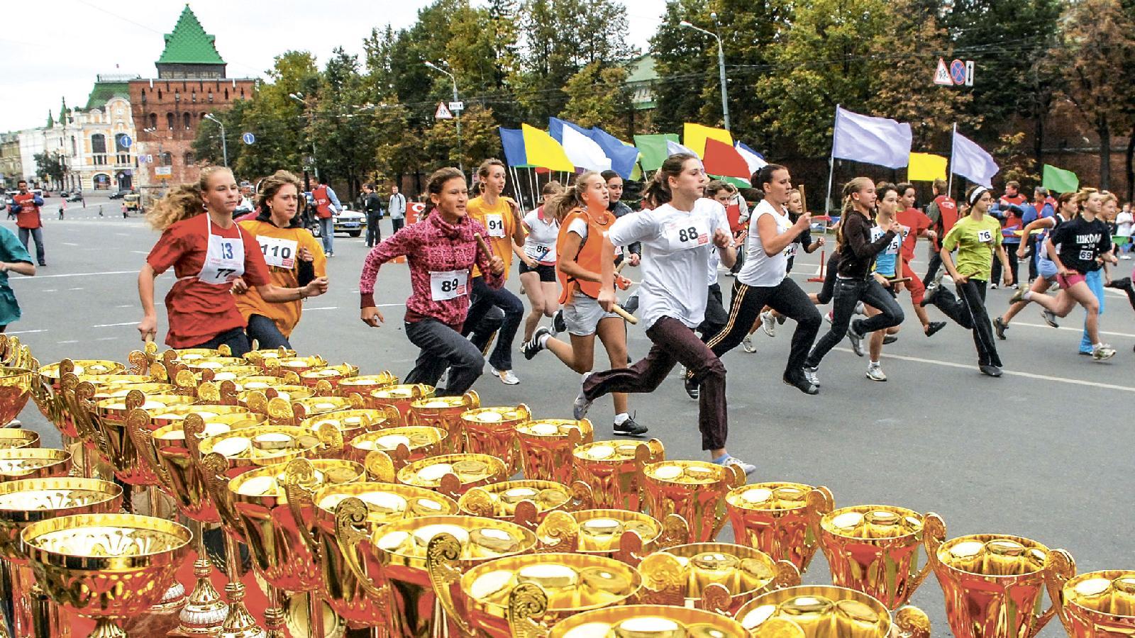 На пробег, который «Нижегородская правда» проводит более 90 лет, приезжают спортсмены со всей области