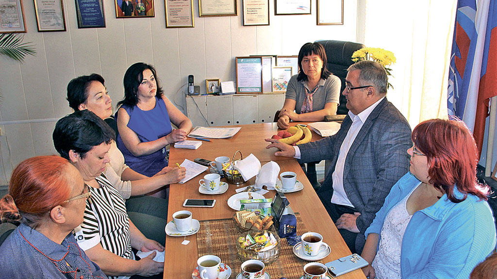 Традиционная встреча с внештатными авторами «Новоторжского вестника»