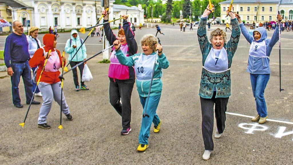 Ежегодная легкоатлетическая эстафета на призы газеты «Новоторжский вестник». Торжок. 19 мая 2018 года