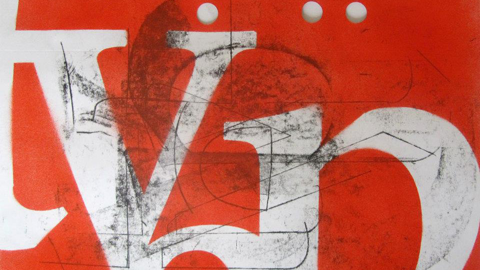 Изучая пластику шрифта, студенты отрабатывают основные принципы композиции в дизайне
