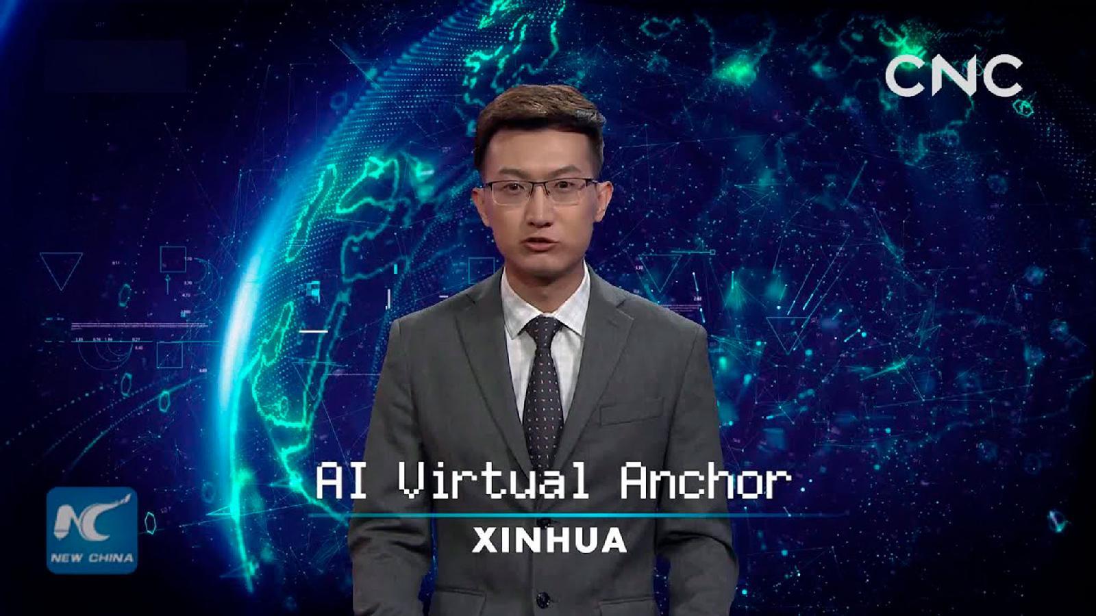 Робот‑телеведущий китайского информационного агентства Xinhua