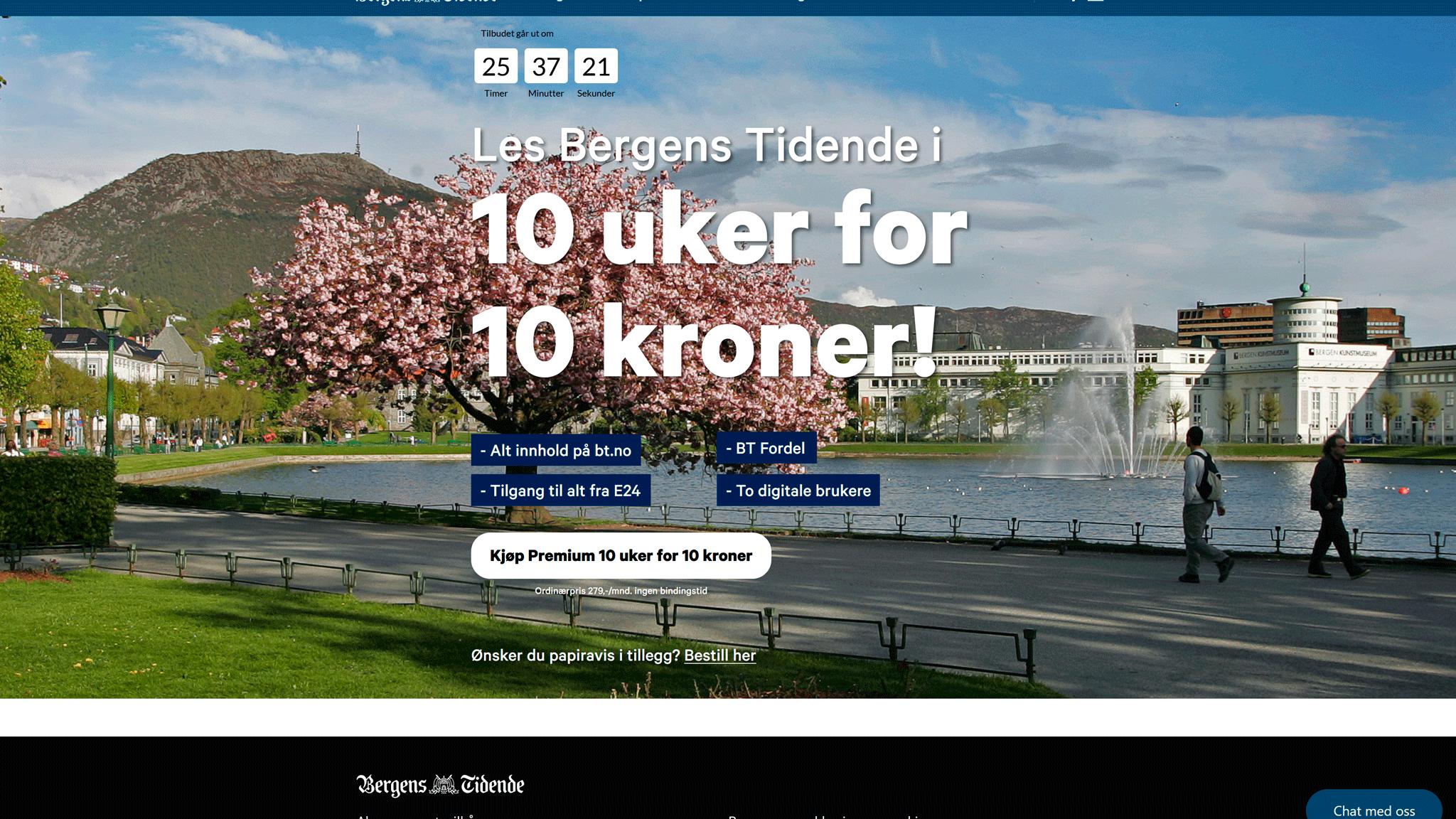Пример Bergens Tidende наглядно иллюстрирует подход компании к формированию предложений по подписке: базовый доступ, премиальный доступ и семейный продукт