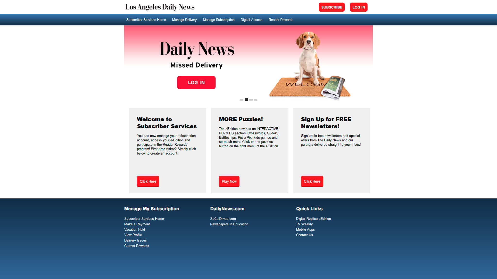 Читатели изданий MediaNews Group могут легко управлять подписками из своих аккаунтов