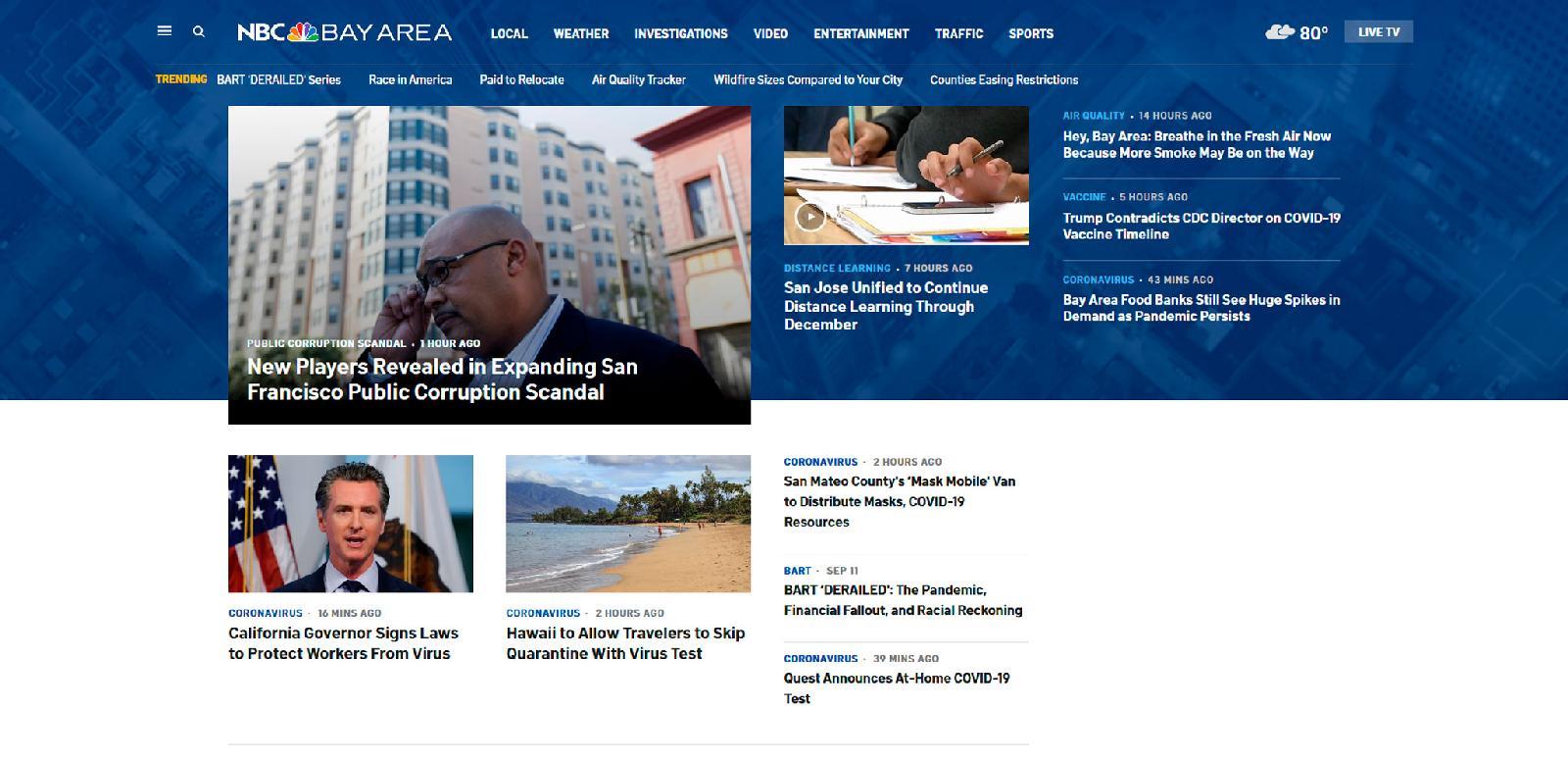 Bay Area News за несколько месяцев увеличила количество подписок на почтовую рассылку до 50 000 человек