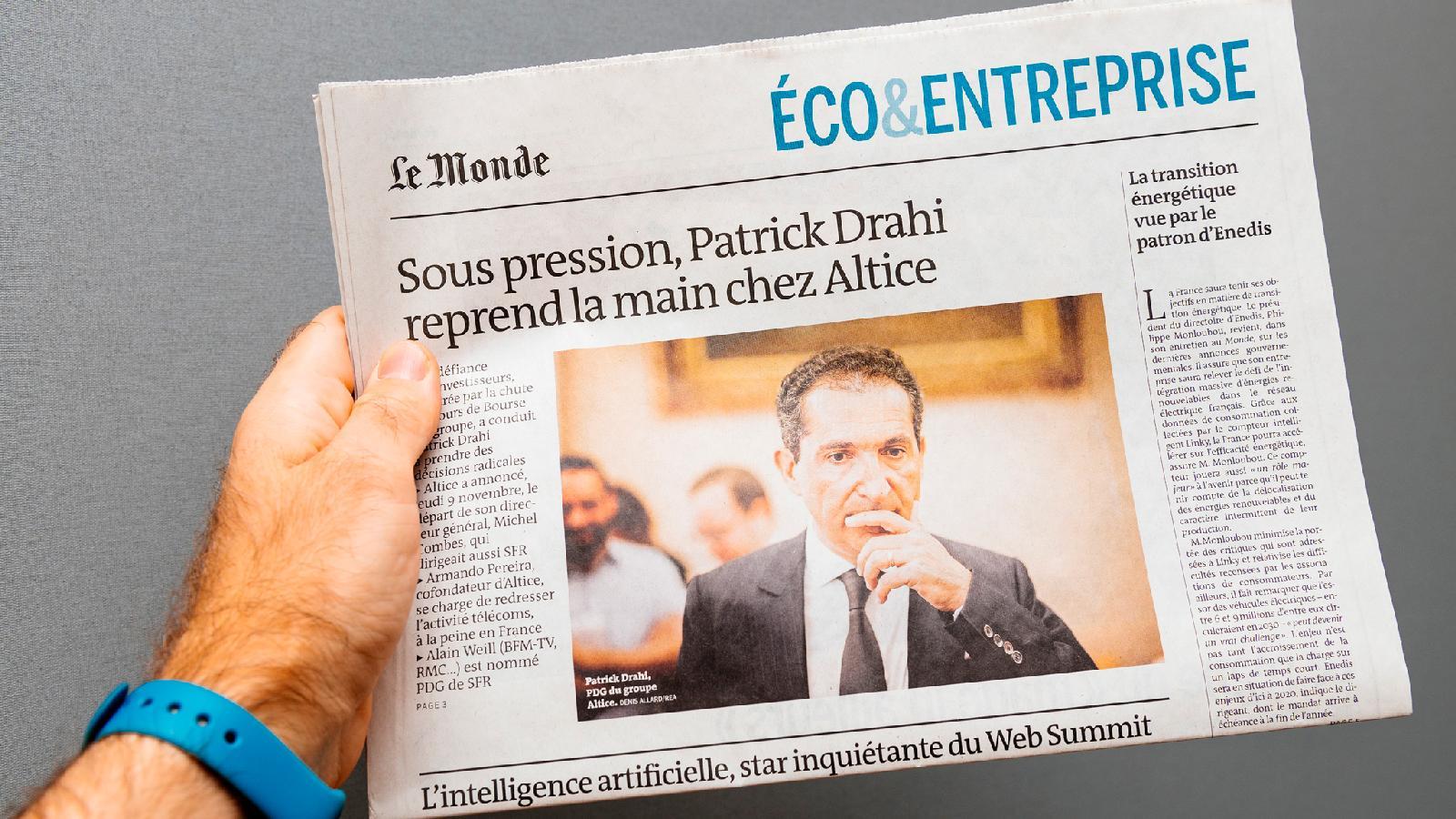 Во Франции Патрик Драи всего за два года создал мощную медиаимперию