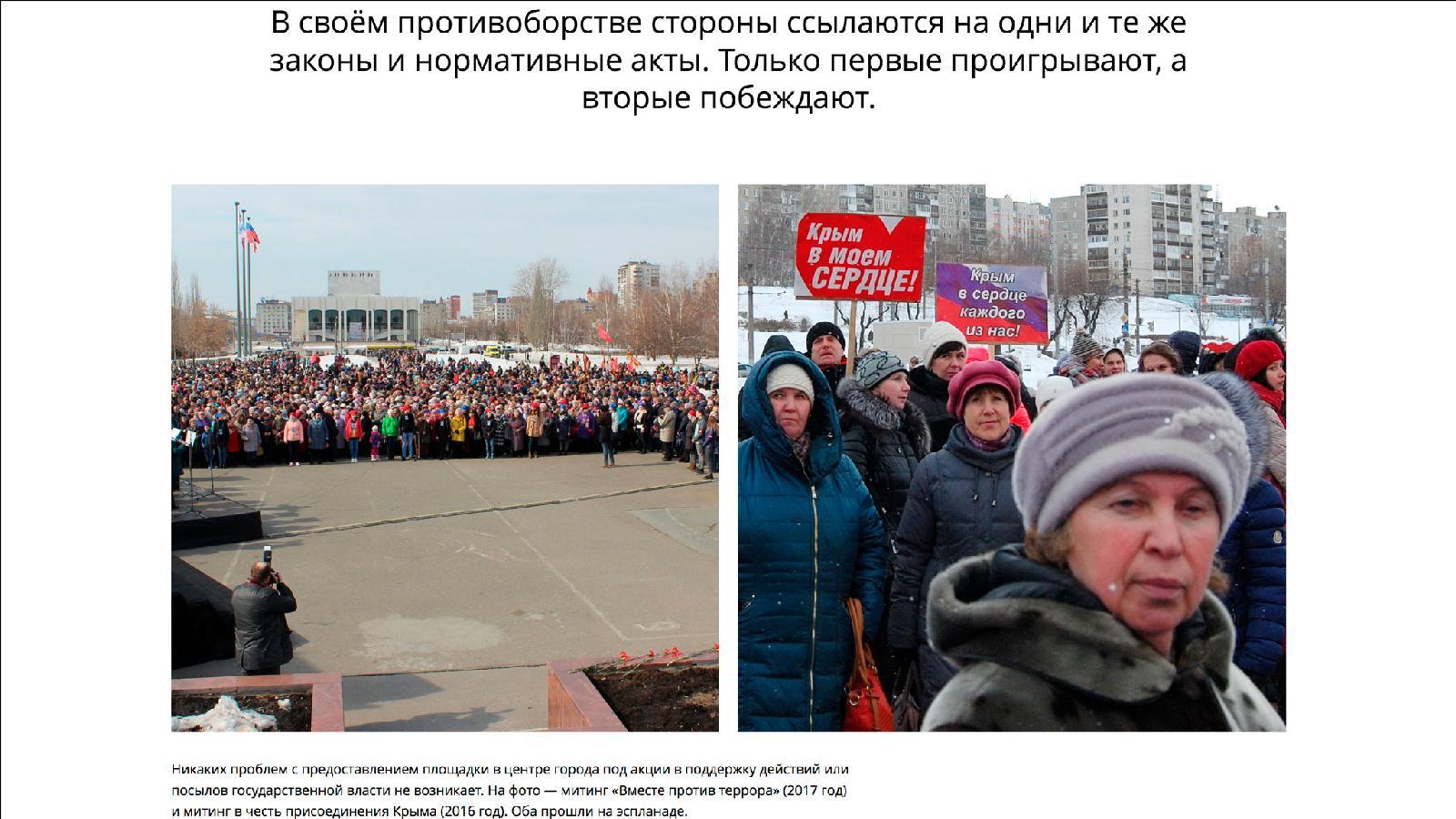 «Четвертый сектор». Материал журналиста Владимира Соколова прозачистку протестного поля вПерми