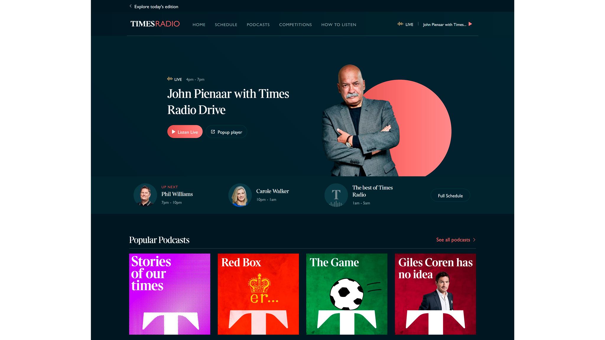 Журналисты The Sunday Times готовят материалы и для газеты, и для общего с The Times сайта, и для Times Radio