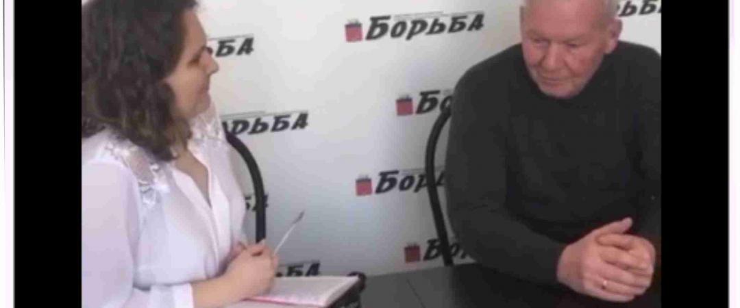 Интервью с представителем районной РДШ Игорем Зубовым