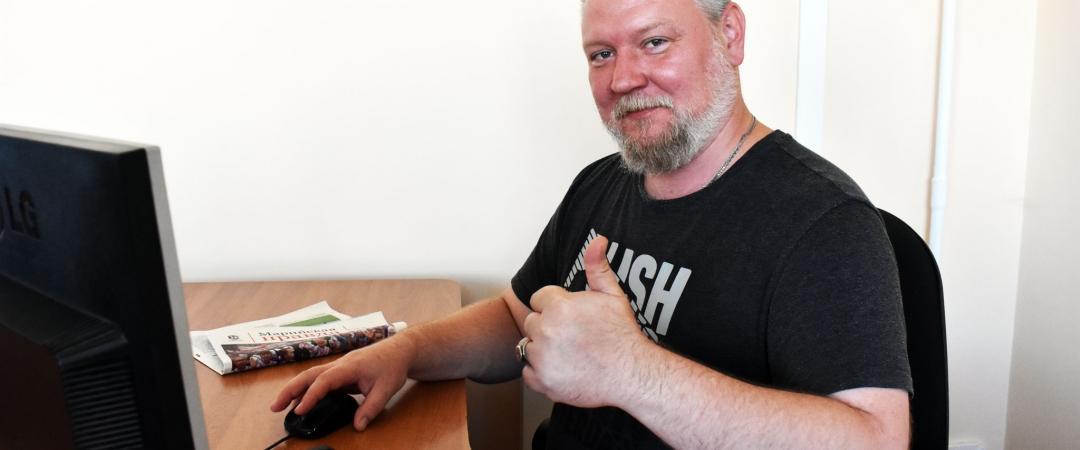 Шеф-редактор сайта marpravda.ru Василий Золотов