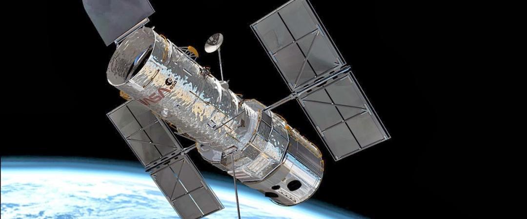 Телескоп «Хаббл», он летает уже 22года исобрал гигантское количество ценнейшей информации