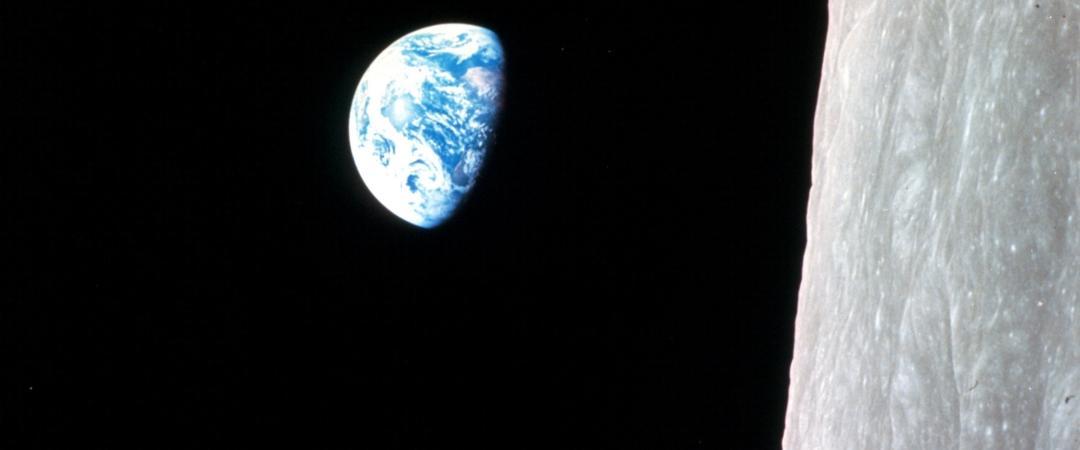 Восход Земли. Apollo-8. NASA